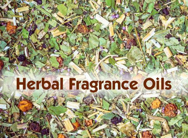 herbal fragrance oils selection