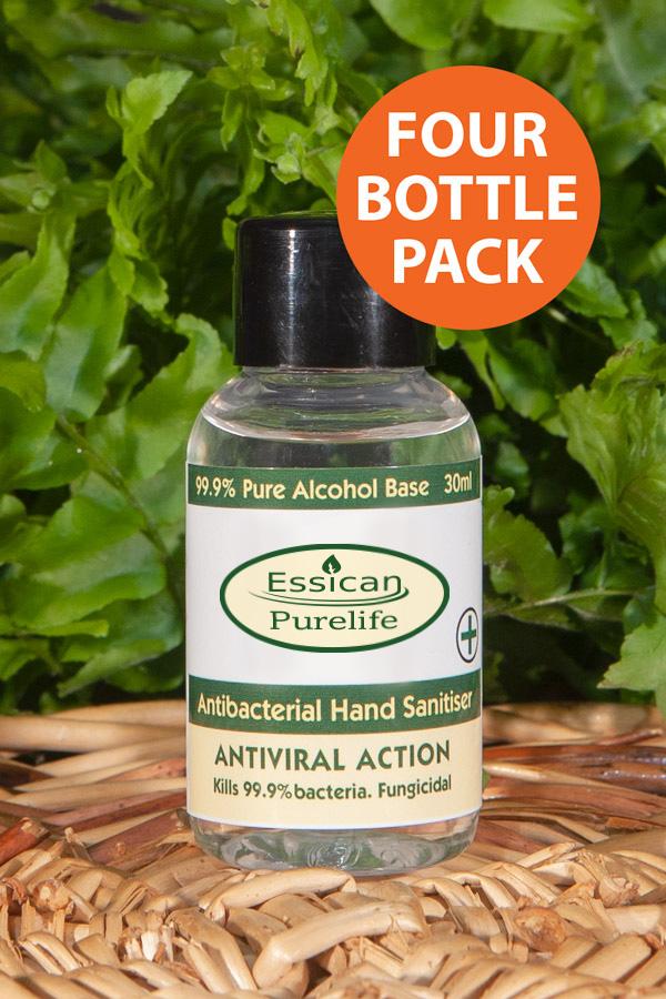 Antiviral antibacterial hand sanitiser from Essican Purelife