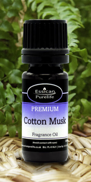 Cotton Musk fragrance oil from Essican Purelife | Fragrance Oils UK