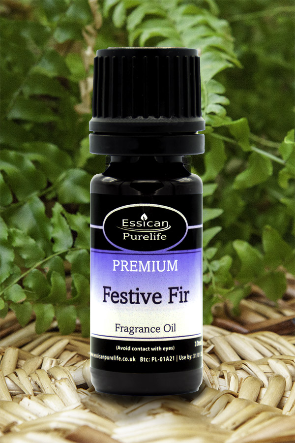 Festive Fir fragrance oil from Essican Purelife   Fragrance Oils UK