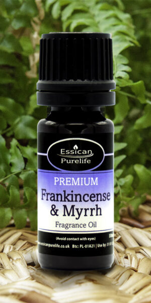 Frankinscense and Myrrh fragrance oil from Essican Purelife | Fragrance Oils UK