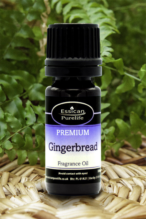 Gingerbread fragrance oil from Essican Purelife | Fragrance Oils UK