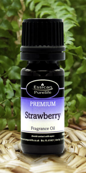 Strawberry fragrance oil from Essican Purelife | Fragrance Oils UK