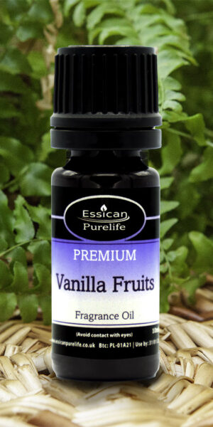 Vanilla Fruits fragrance oil from Essican Purelife | Fragrance Oils UK