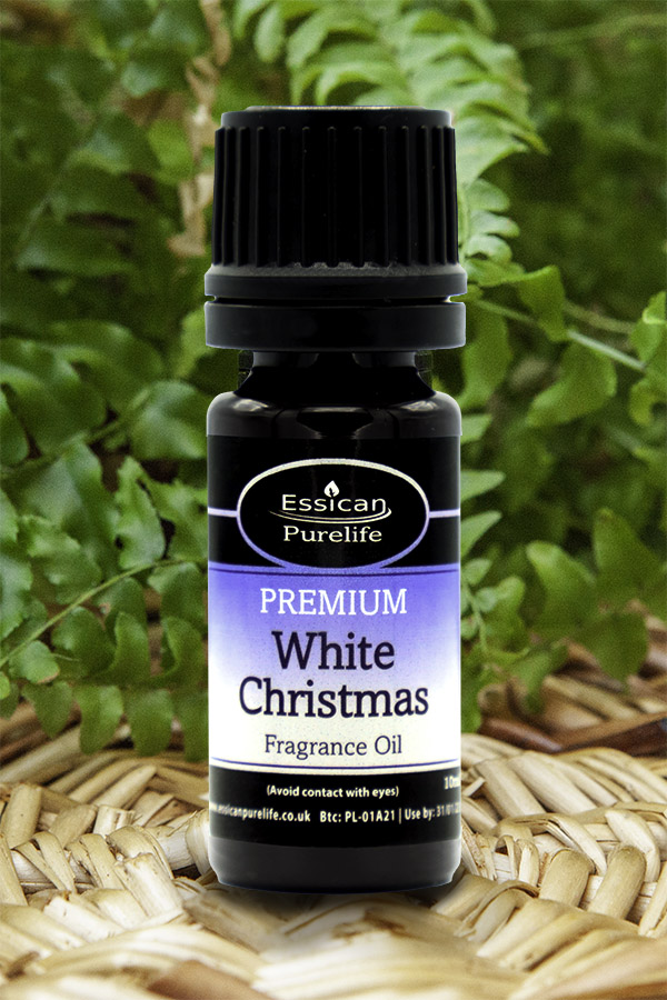 White Christmas fragrance oil from Essican Purelife   Fragrance Oils UK