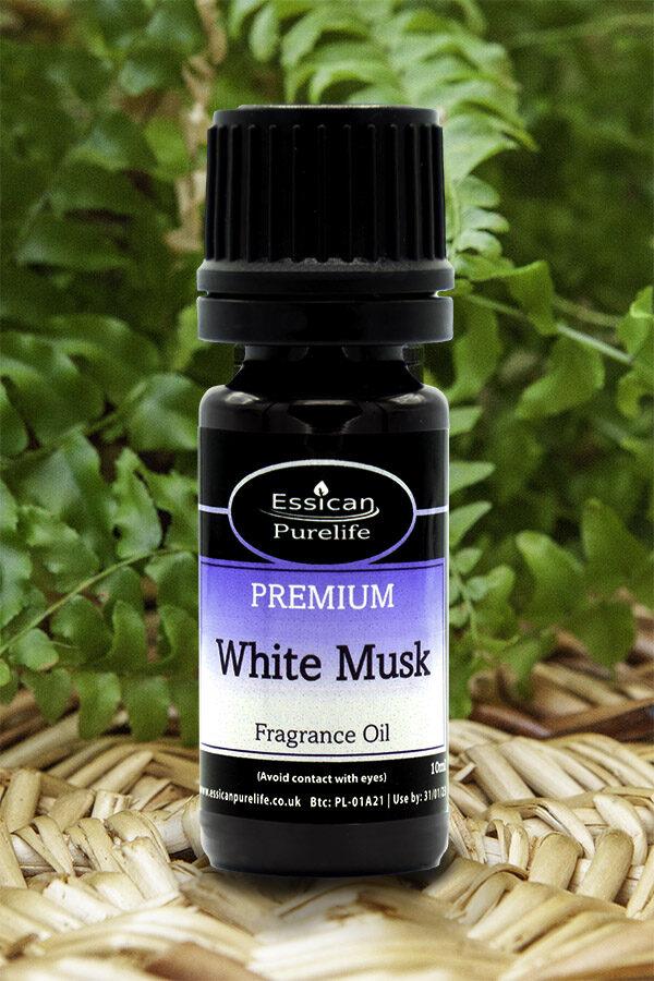 White Musk fragrance oil from Essican Purelife   Fragrance Oils UK