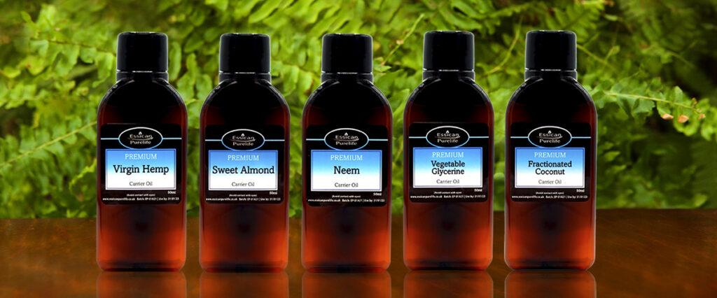 Essican Purelife Carrier oils range | Pure organic carrier oils UK