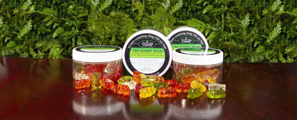 CBD Gummy Bears range from Essican Purelife | CBD Gummies UK