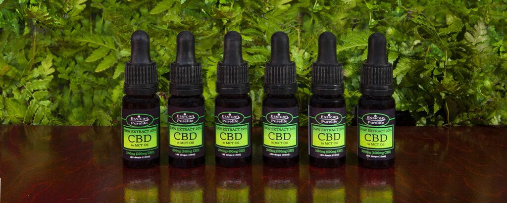 Raw CBD full extract cannabis oil in Virgin Hemp oil from Essican Purelife | Full spectrum CBD UK