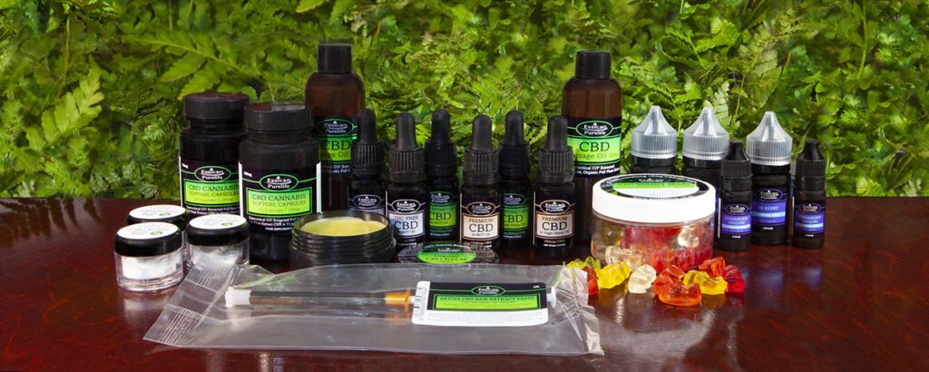 Essican Purelife CBD oil full product range | CBD UK supplier and manufacturer
